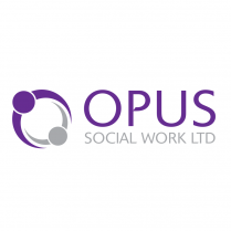 Social Worker Logo Design Opus