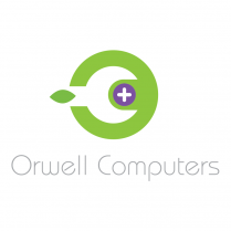 Mac Repair Logo and Brand Design Orwell Computers