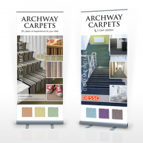 Pop Up Banner Design Woodbridge Archway Carpets