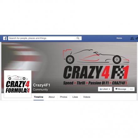 Crazy4F1-Facebook-Cover-Design