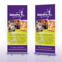 Pop Up Banner Hertfordshire DancePro