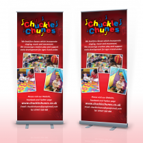 Pop Up Banner Designer Felixstowe Chuckle Chunes