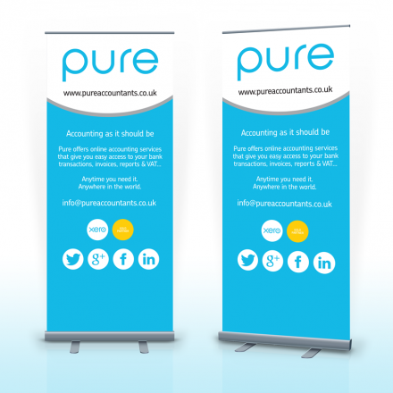 Pop Up Banner Woodbridge