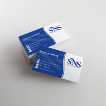 SNS Accountants Business Cards Print