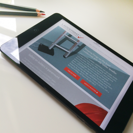 Laddermat-iPad-Website