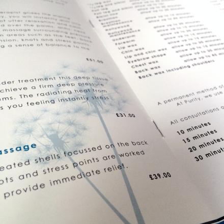 Staple Bound Printed Brochure