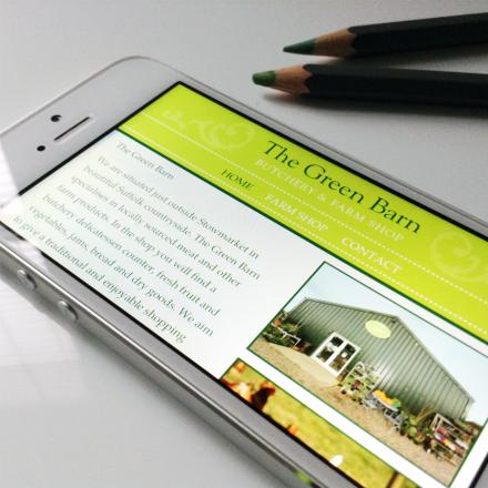 Green Barn Website Design