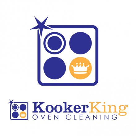 Cooker Cleaning Logo Design