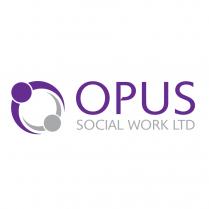 Social Worker Logo Design Opus