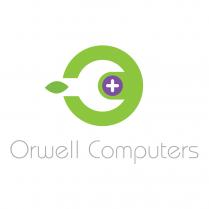Mac Repair Logo and Brand Design Orwell Computers