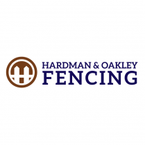 Fencing Logo Design Hardman & Oakley