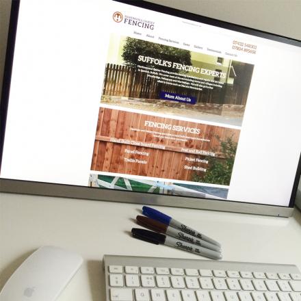 Fencing Website Design