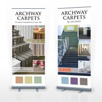 Pop Up Banner Design Woodbridge Archway Carpets
