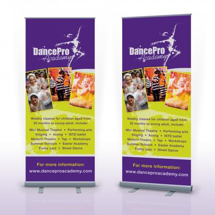 Pop Up Banner Hertfordshire