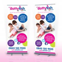 Pop Up Banner Designer Ipswich Dotty Fish