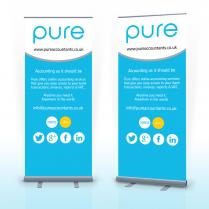 Pop Up Banner Woodbridge Pure Accountants