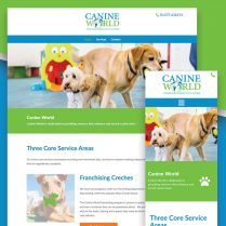 Canine World Website Design Martlesham