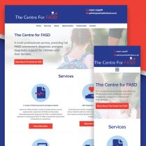 Centre for FASD Website Design Felixstowe