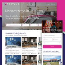 Eastays Property Rental Website Design Suffolk