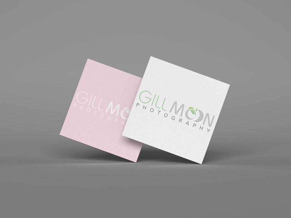 Gill Moon Photography Logo Design Woodbridge