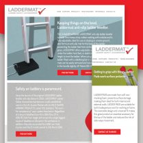 Laddermat Responsive Website