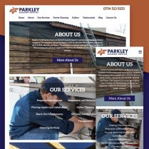 Parkley Website Design Ipswich