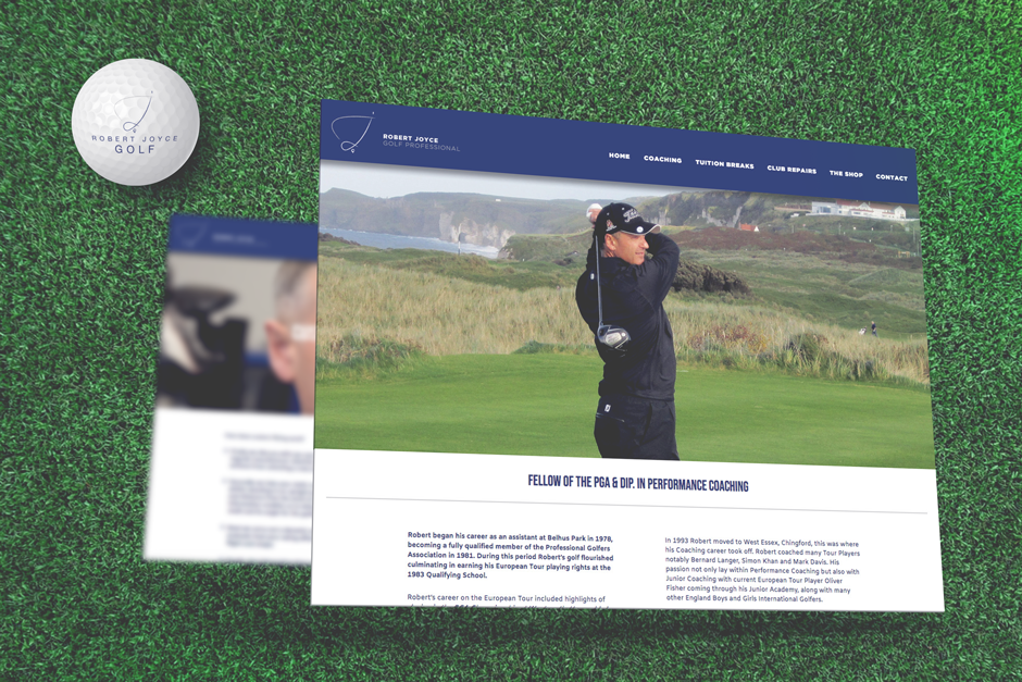 Robert-Joyce-Golf-Pro-Website-Design-Woodbridge
